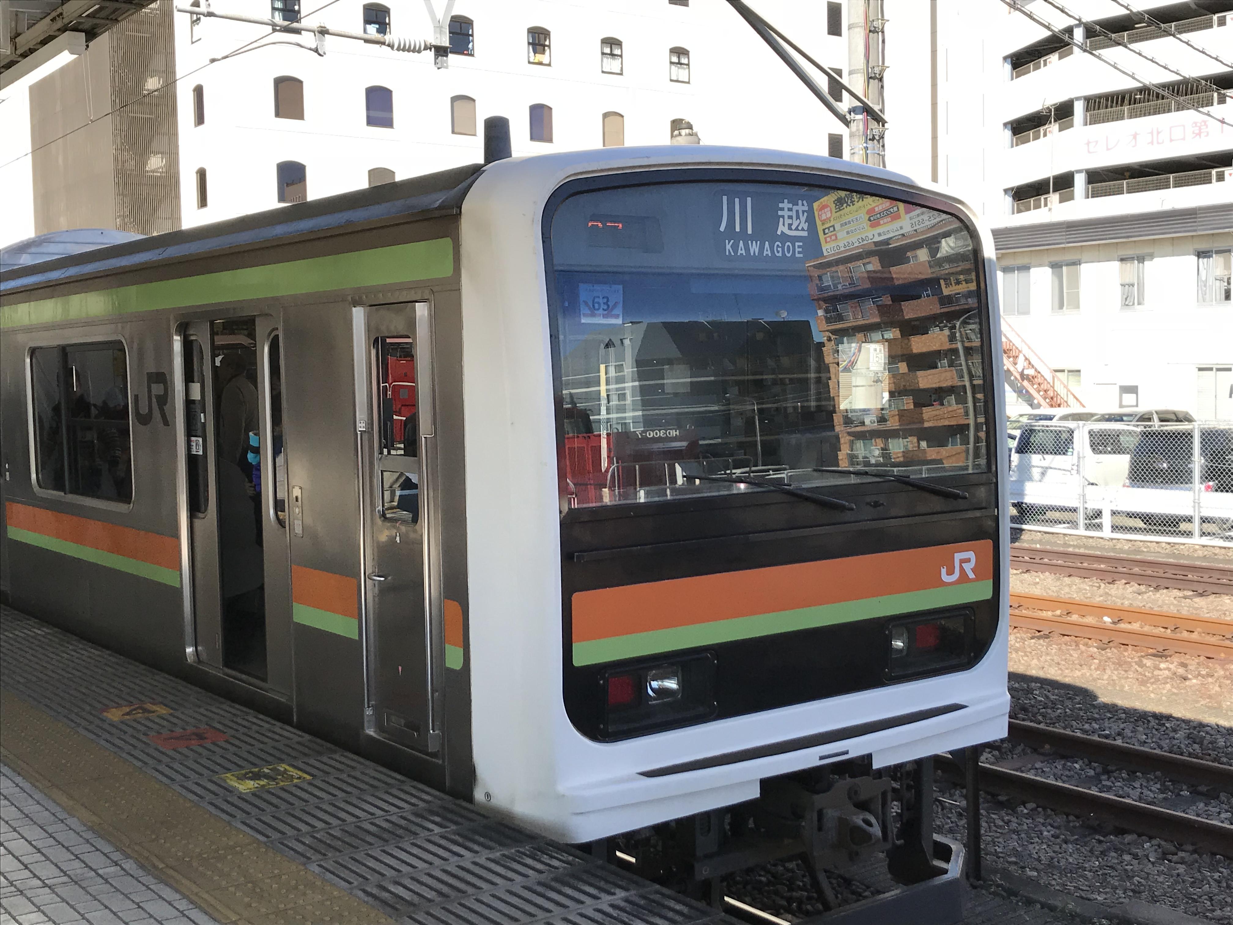 関東大回りの旅【世代交代が進む八高線。209系に乗る。】