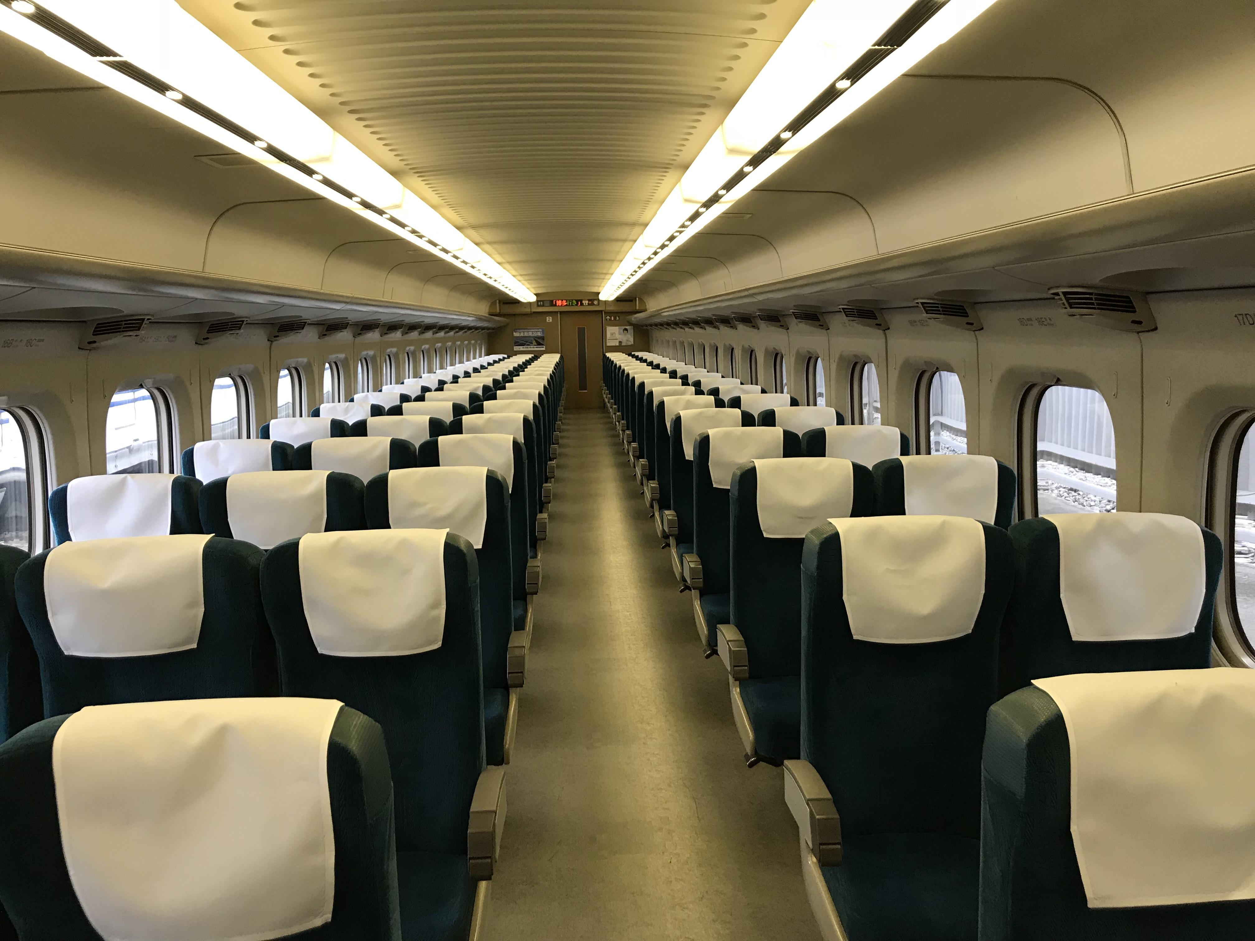 クリスマスツアー 【新幹線1両にいるのは自分だけ?!】