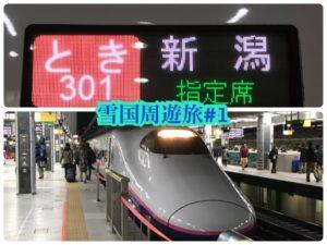 冬の上越新幹線は大混雑!その訳は?【雪国周遊旅】