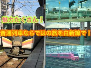 白新線で普通列車の旅を楽しもう!【雪国周遊旅】