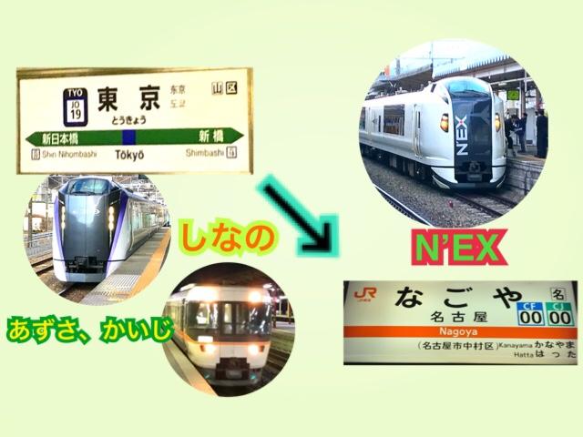 中央線特急で東京から名古屋へ!旅情をそそる旅へ【中央線特急乗継の旅】