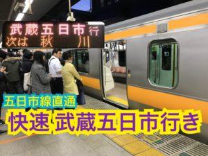 東京から五日市線直通!観光で有名な五日市線に向かう電車の混雑は?【関東めぐり千葉編】