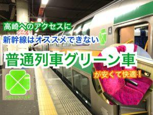 【湘南新宿ライン】湘南新宿ライングリーン車は安くて快適!新幹線いらず?!【関東めぐり群馬編】