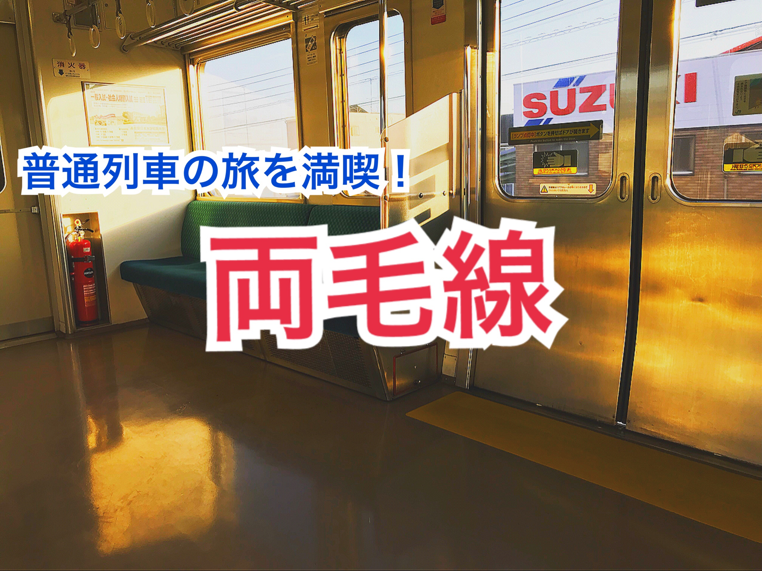 【普通列車の旅】両毛線で田園風景の普通列車の旅を満喫!【関東めぐり群馬編】