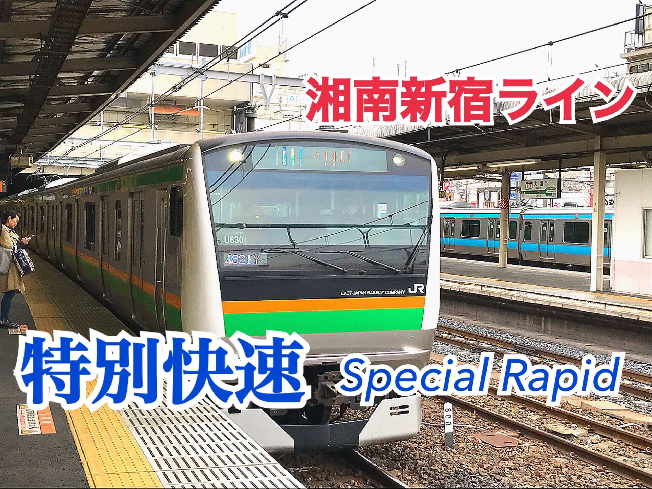 【湘南新宿ライン】湘南新宿ライン特別快速の良さはここだ!!【関東めぐり東京編】