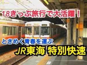 【青春18きっぷでおすすめ!】欠点なし!JR東海特別快速に乗車!【関西勉強合宿】