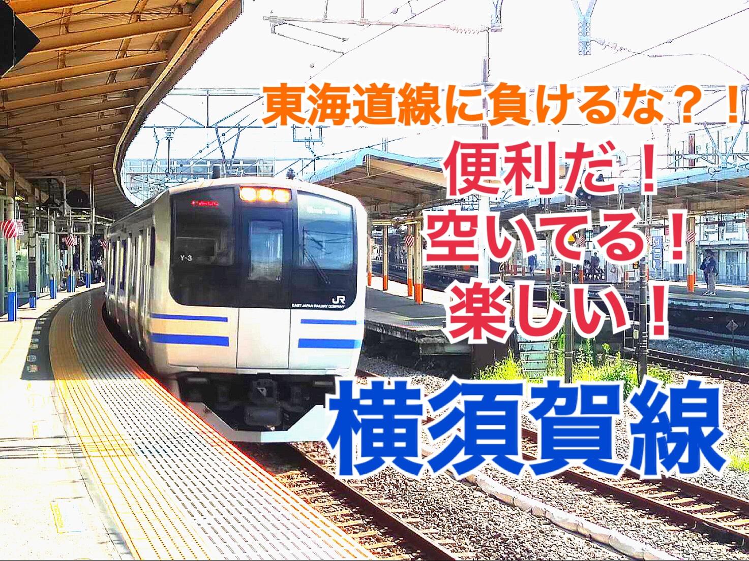 【横須賀線】東海道線と競争!横須賀線の良さは何?【東京西部201908】