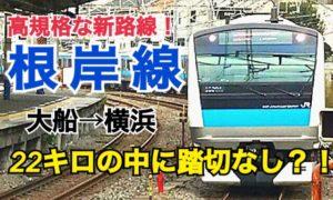 【横浜の星】高規格路線!根岸線乗車記 大船→横浜【夏の東日本紀行2019】