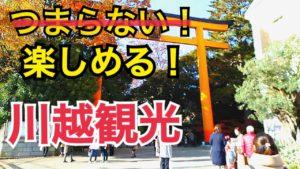 川越観光のおすすめプラン!川越氷川神社は川越の魅力を感じられる!つまらない!とならない川越観光へ!【相鉄・JRの旅】