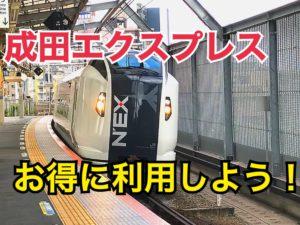 成田エクスプレスに格安で乗る方法!安く成田空港へ行き、快適な旅を!【西東京千葉】