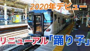 2020年デビュー!E257系リニューアル踊り子号に乗車!【常磐線運転再開の旅】