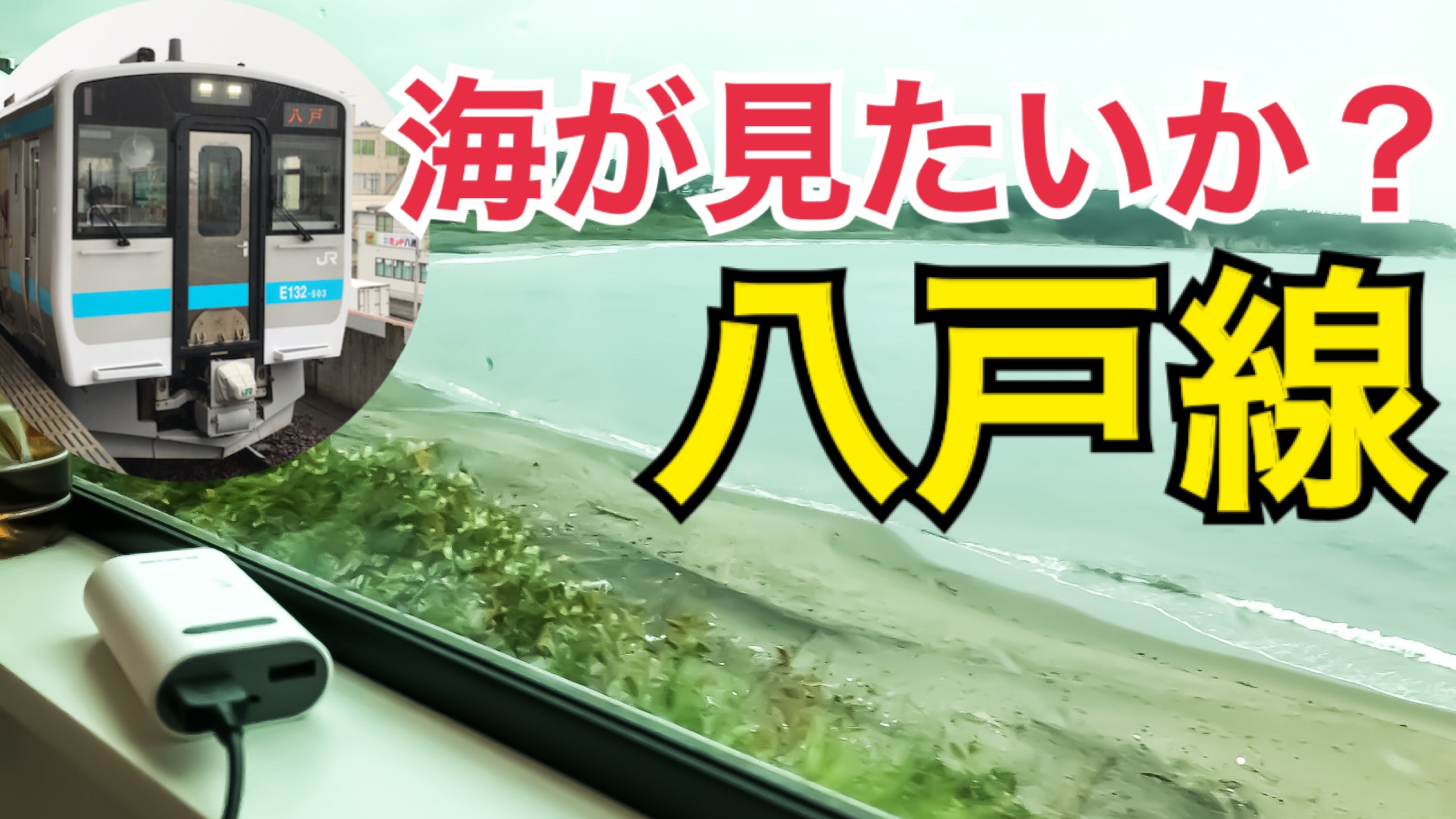 新型車両が走るローカル線 八戸線で太平洋の景色を眺めよう!太平洋側の五能線、八戸線乗車記【北海道東日本パスの旅2020】