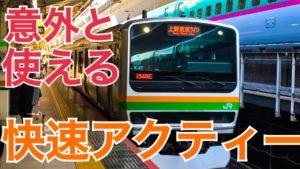 【日中は廃止】東海道線、快速アクティー熱海行き乗車記 意外と便利かも?【秋の草津ツアー】