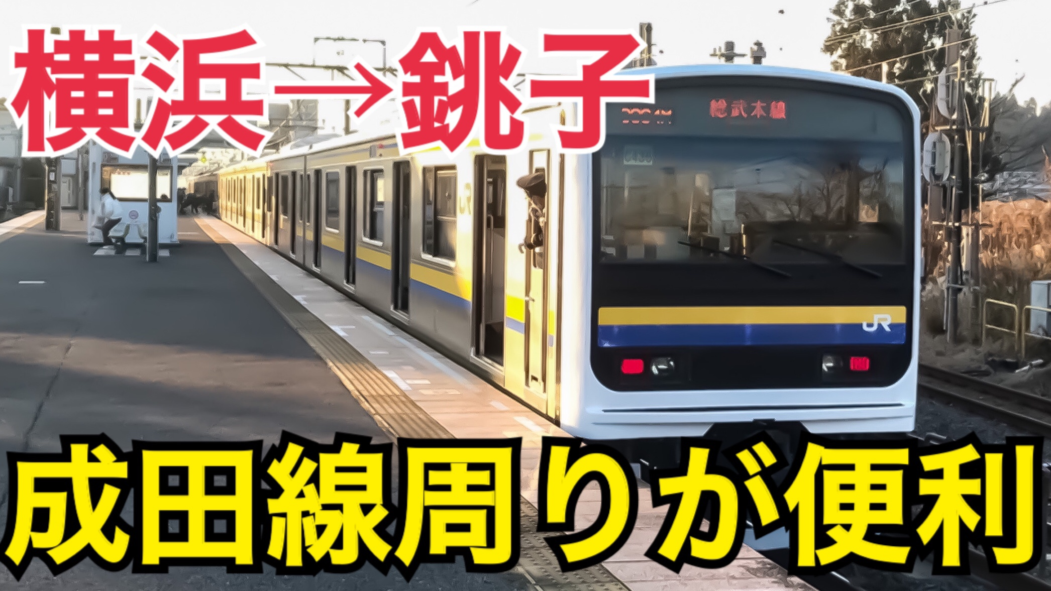 横浜銚子間は成田線周りが便利!グリーン車で快適に銚子へ!横浜銚子間普通列車の旅【関東満喫の旅】
