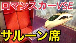 限定3席!ロマンスカーVSEのサルーン席に乗車!【関東満喫の旅】
