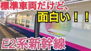 角度90度の座席!?コンセントがないことも!JR東日本E2系新幹線をご紹介!【茨城魅力発見の旅】