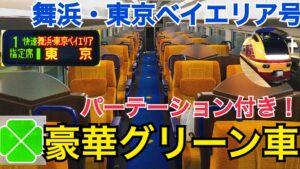 豪華なグリーン車!E653系の快速舞浜・東京ベイエリア号乗車記!パーテーション付きグリーン車で快適に舞浜へ! 日立→東京【紀伊常陸普通列車の旅】