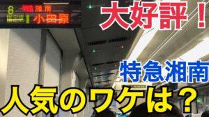 大好評!なぜ特急湘南は人気なの?特急湘南1号乗車記 東京→小田原